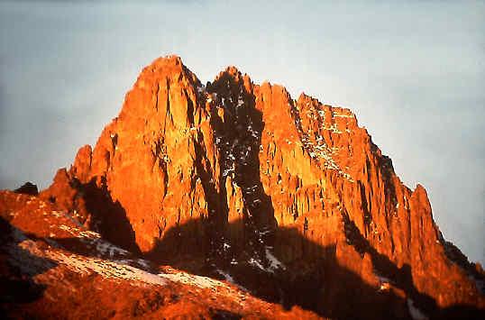 Mount Kenya - Batian