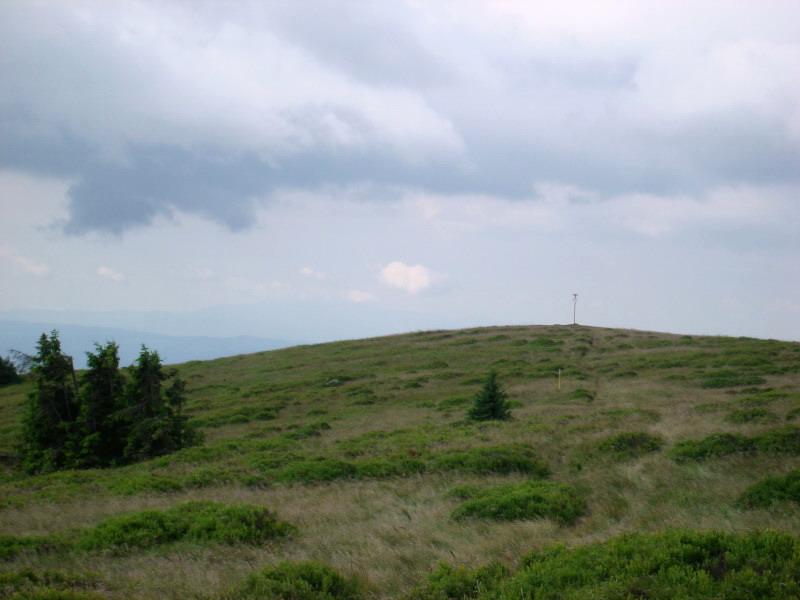 Pod vrcholmi Humieniec.