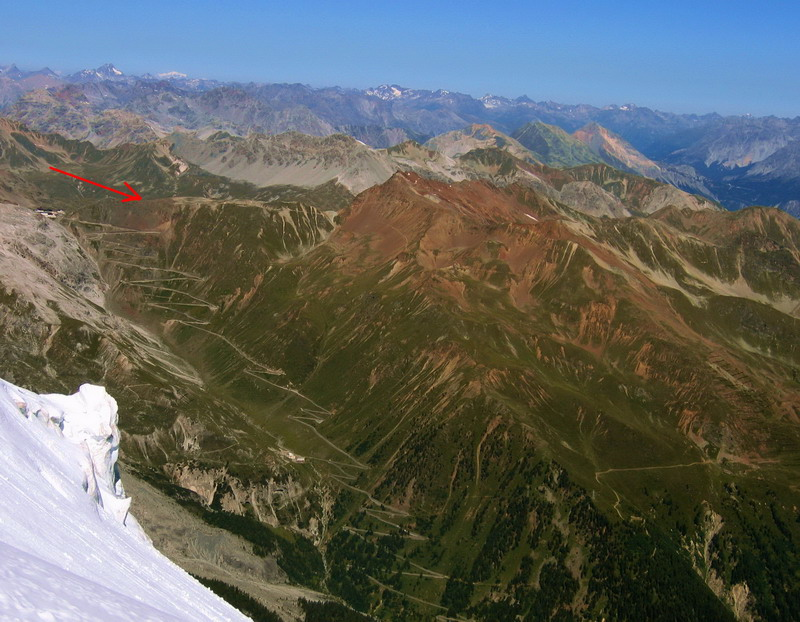 Šípka - Dreisprachenspitze - začiatok trailu