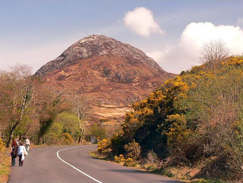 Diamond Hill dominuje okoliu