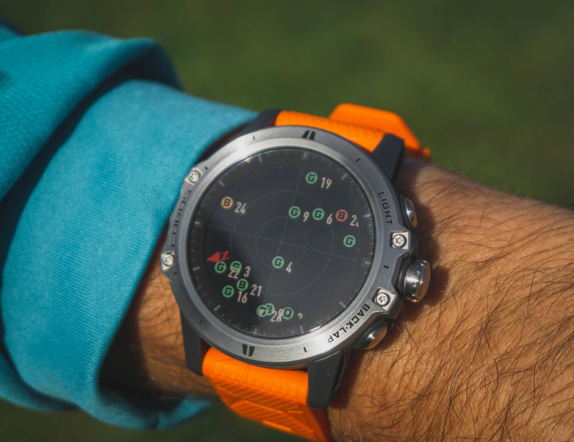 V hodinkách sa dá pozrieť kvalita spojenia so satelitmi.