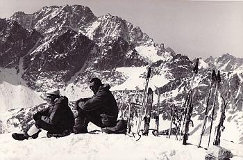 Javorový štít, vrchol, Botka-Kriššák