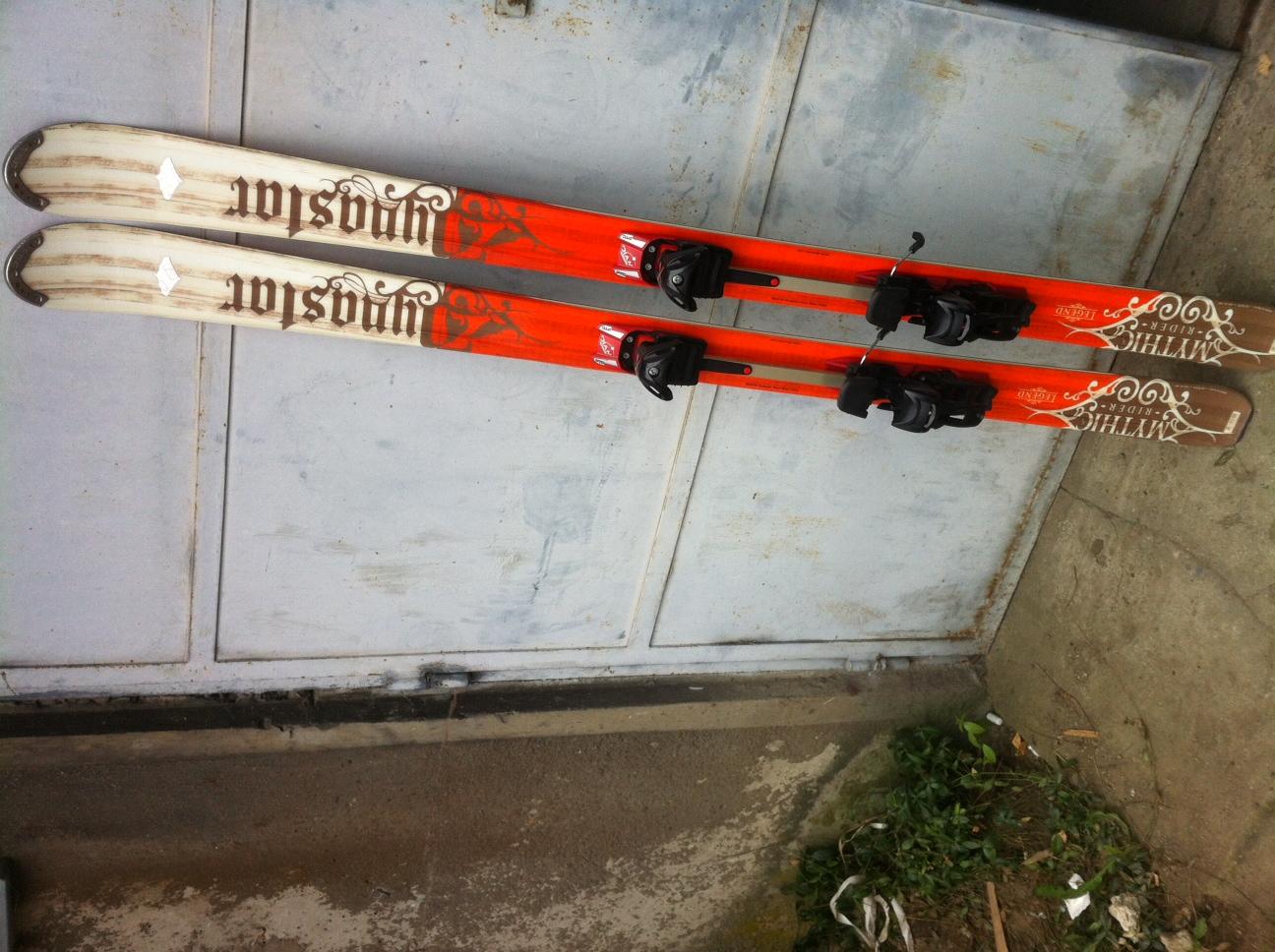 Predám skialp (freeride) lyže v super stave d9a81ed8129