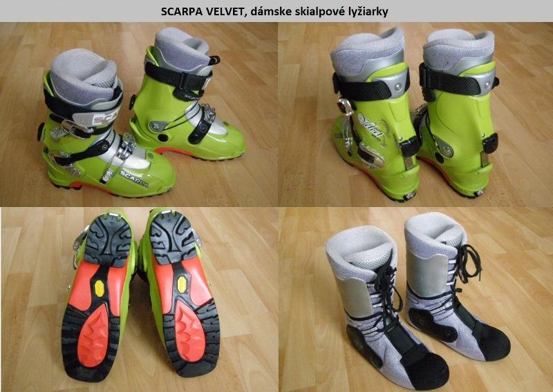 Fotky Damske lyziarky SCARPA VELVET c52d5587d14