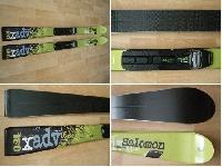 BC lyze SALOMON XADV89 180 cm + viazanie