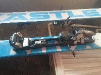 Predám freeride lyže Kastle BMX128+viazanie+pásy